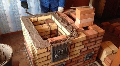 Кладка отопительных печей в Новосибирске. Любой объём работ.