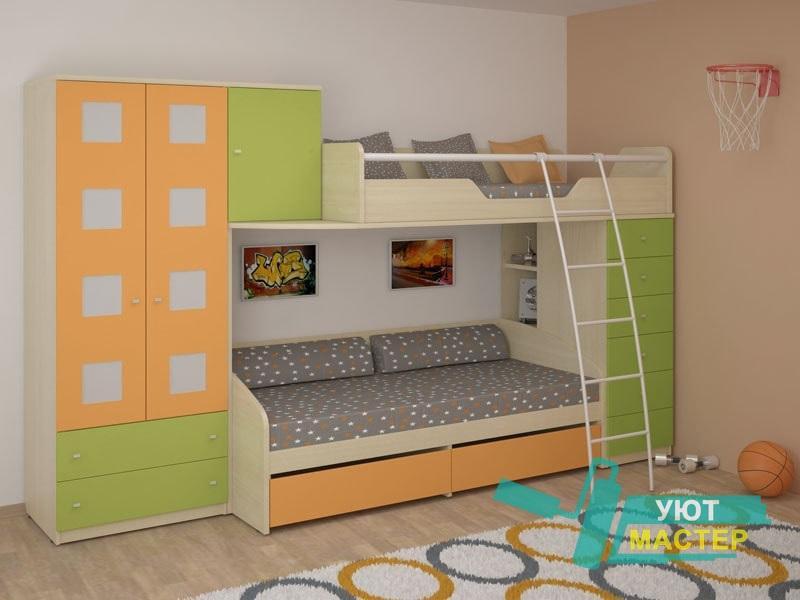 Детская корпусная мебель заказать в компании Уют Мастер Новосибирск