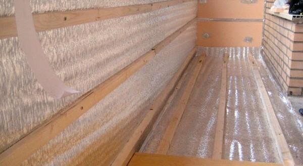 Утепление балкона цена под ключ, комплексные услуги.