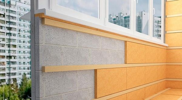 Утепление стен на балконе или лоджии, утеплить балкон цена