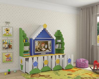 Детская кровать чердак домик Новосибирск