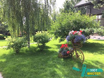 Ландшафтный дизайн Новосибирск для дачи.