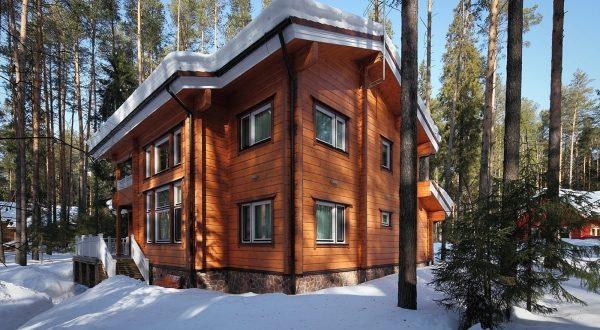 Строительство домов из клееного бруса недорого