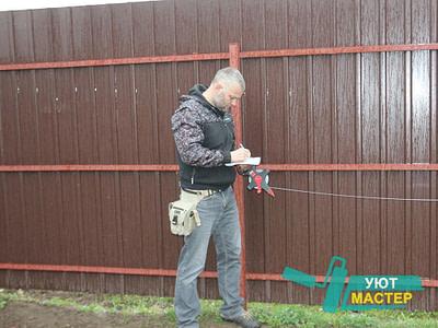 Забор из профнастила недорого Новосибирск
