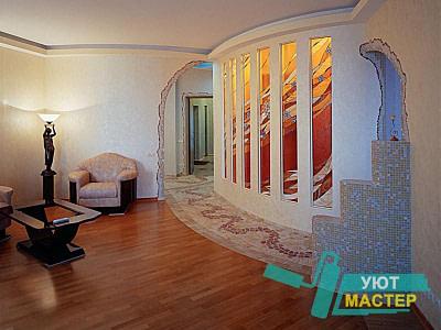 Ремонт помещений и квартир по дизайн проекту Новосибирск недорого.