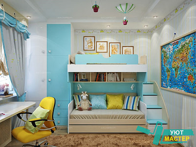 Ремонт детской комнаты под ключ Новосибирск цены