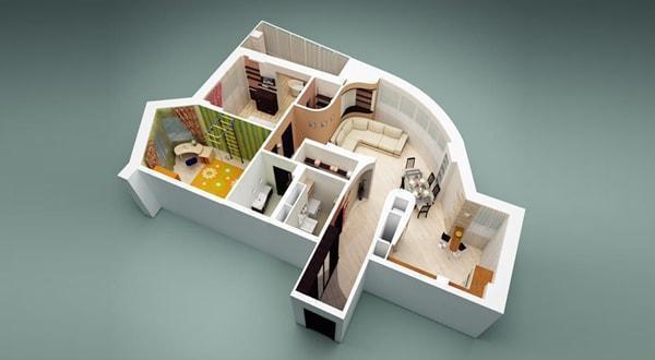 Дизайн интерьера квартиры, частного дома, коттеджа, коммерческого помещения. Планировочные решения, концептуальный дизайн.