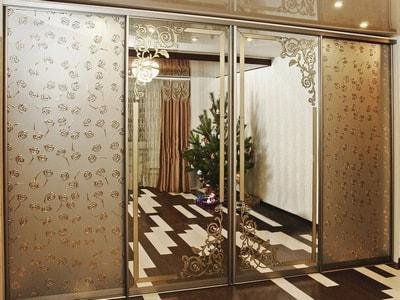 Заказать шаф купе на заказ зеркальные двери шкаф купе в Новосибирске