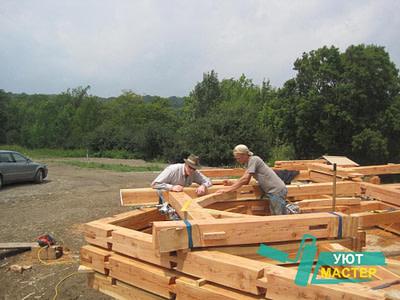 Деревянные дома строительство в Новосибирске