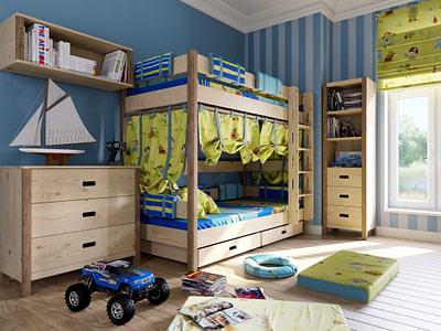 Комплект мебели для детской комнаты цена Новосибирск