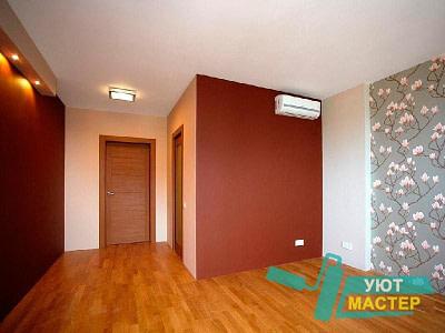 Косметический ремонт квартир, стоимость косметического ремонта со скидкой от Уют Мастер, косметический ремонт квартир, офиса недорого.