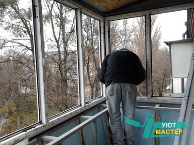 Остекление балкона под ключ недорого от специалистов. Балкон под ключ.