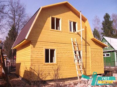 Дома из бруса в Новосибирске