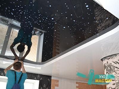 Натяжные потолки Новосибирск под ключ