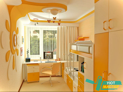 Ремонт детской комнаты в хрущевке