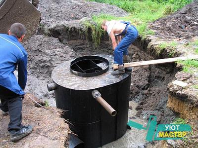 Устройство канализации под ключ недорого для частного дома.