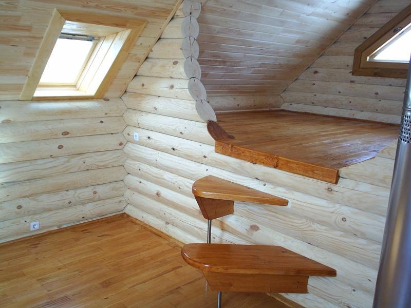 Строительство деревянных домов под ключ из оцилиндрованного бревна