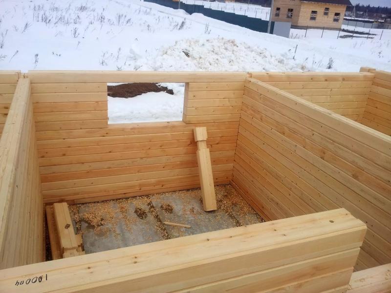 Строительство деревянных домов под ключ Новосибирск