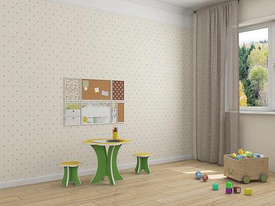 Детская мебель стульчик Ромашка мини купить в Ульяновске