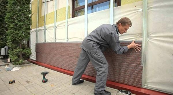 Фасадные панели монтаж недорого