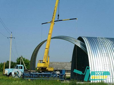 Строительство металлоконструкций по низким ценам