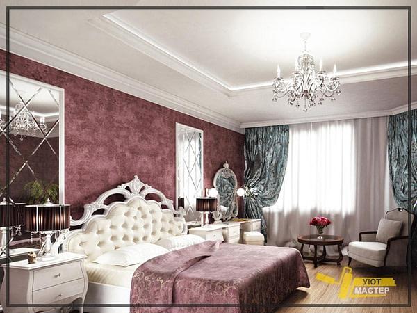 Ремонт спальни 18 м2