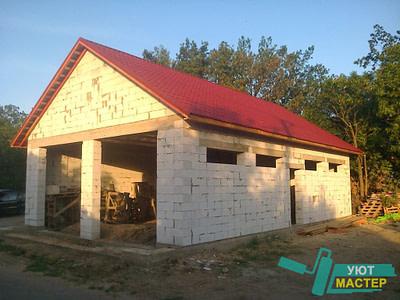 Строительство гаражей под ключ проекты и цены в новосибирске