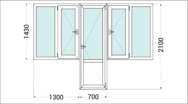 Пластиковые балконные блоки недорого с установкой