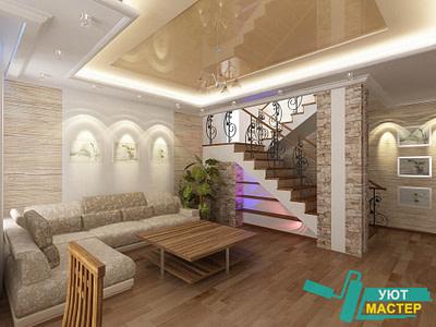 Ремонт коттеджей под ключ цены в Новосибирске, ремонт загородного дома цены.
