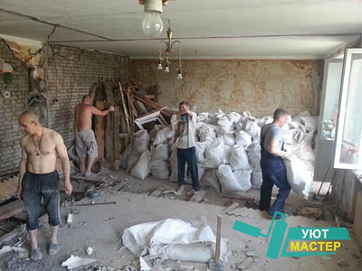 демонтаж стен Новосибирск