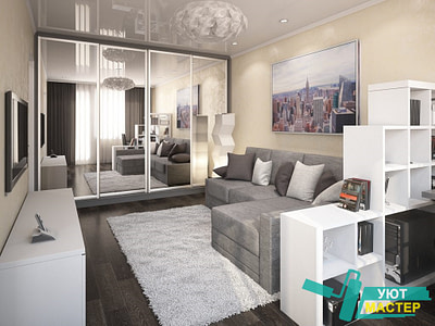 Ремонт однокомнатной квартиры под ключ цена
