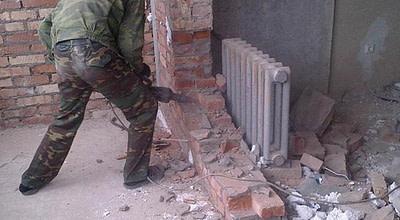 Снос стен и перегородок Новосибирск цена