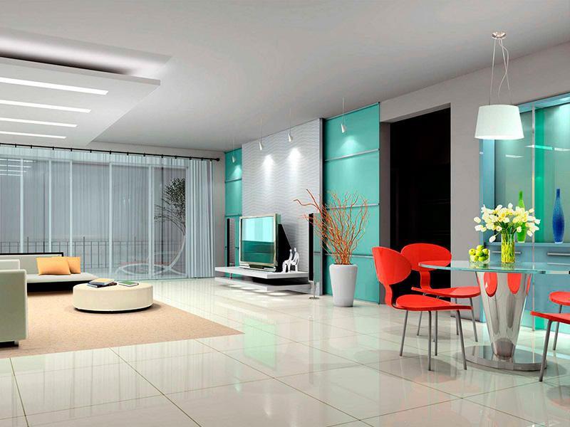 дизайн проект квартиры в хай тек