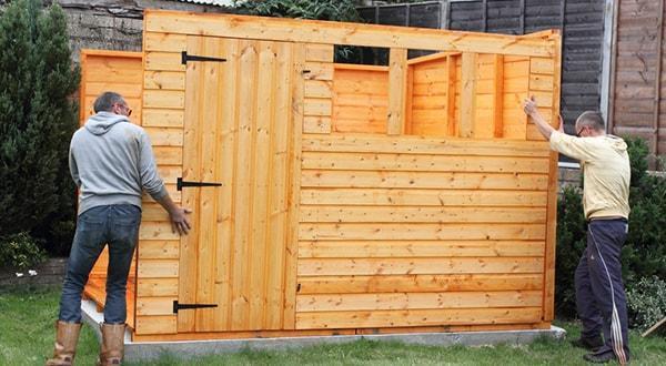 Строительство деревянного сарая заказать недорого в короткие сроки.