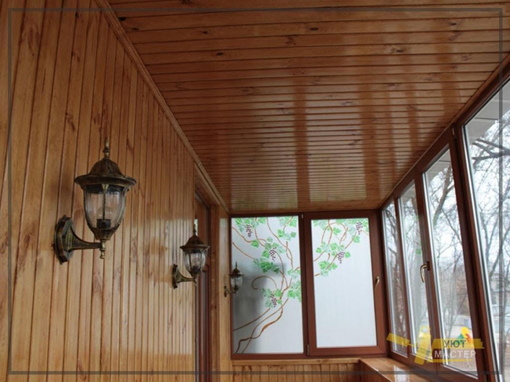 пример остекления балконов и лоджий