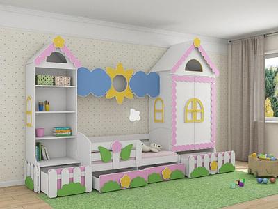 Детская серийная мебель