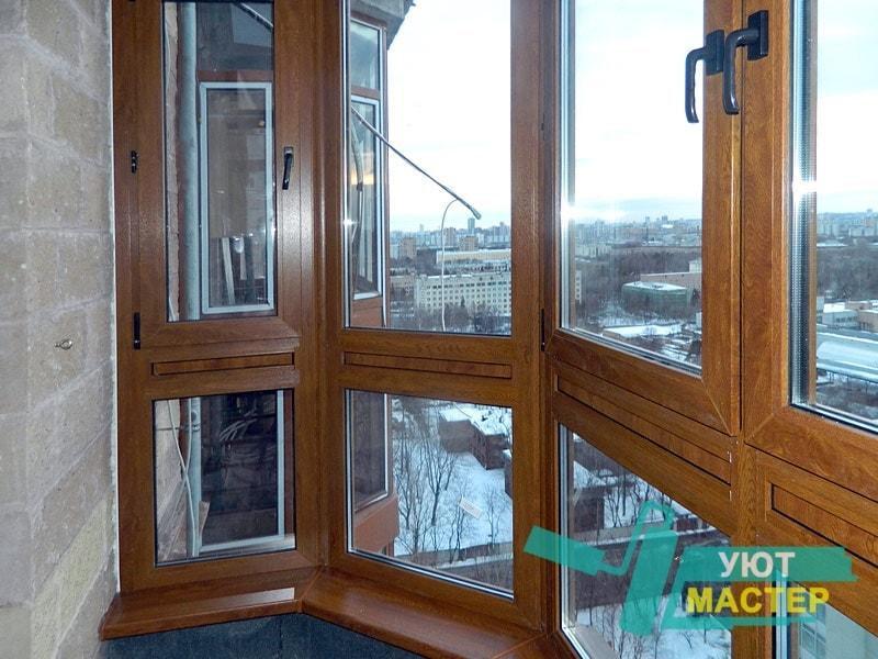 Остекление балконов и лоджий в Новосибирске цены под ключ