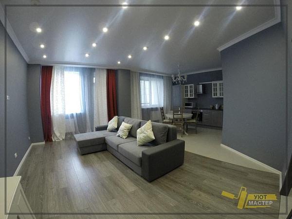 Отделка квартиры 48 м2
