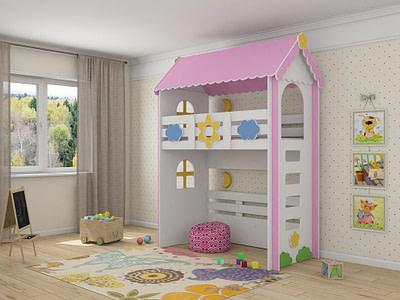 Детская мебель кровать чердак для детской комнаты